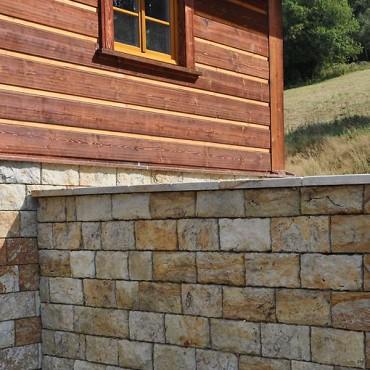 Stein Zaun - Color Sandstone
