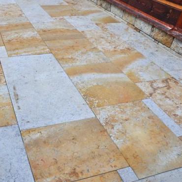 Stein Fliesen - Color Sandstone