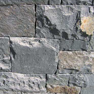 Steinwand Innen Detail - Dark Gray