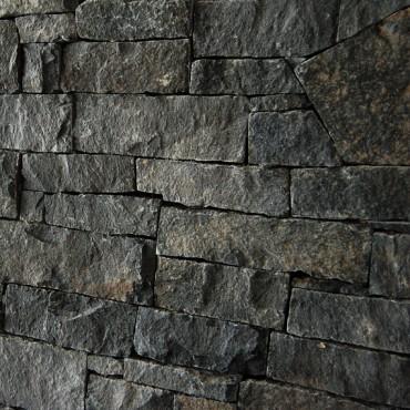 Steinverkleidung Detail - Dark Gray