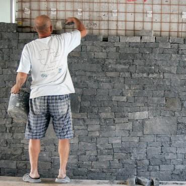 Steinverkleidung und Steinmetz - Dark Gray