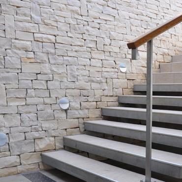 Steine für Fassade - White Essence