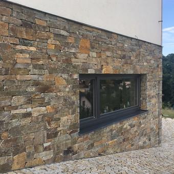 Fassade Naturstein - Montego Gray