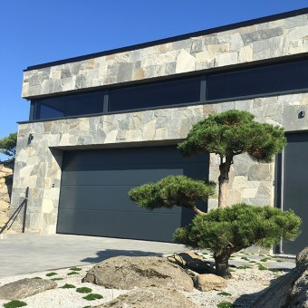 Fassade Naturstein - Royal Silver