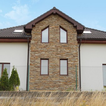 Fassade Naturstein - Modern Rustic