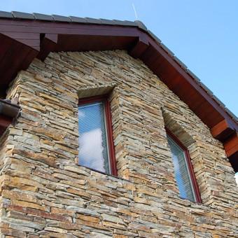 Steinfassade - Modern Rustic
