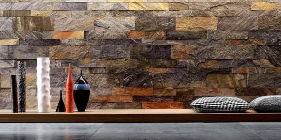 Steinverkleidungen in Innenräumen