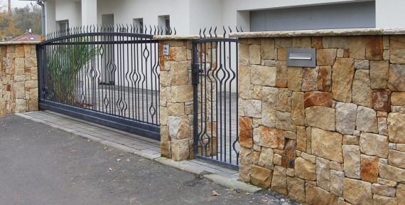 Steinmauern und zäune